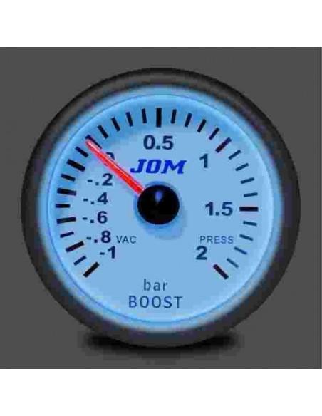Eclairage du Manomètre 52mm pression de turbo JOM