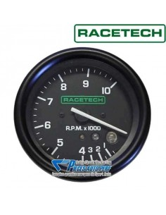 Compte-tours RACETECH Diamètre 80mm 0/10000 RPM avec shift-light