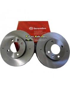 2 Disques de freins Avant BREMBO Groupe N Traités 284x22mm Fiat 500 1l4 16v Abarth