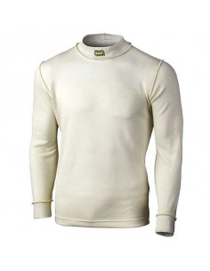 T-shirt FIA manches longues OMP Nomex Ecru
