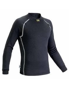 T-shirt FIA manches longues OMP Classic-S Nomex Noir