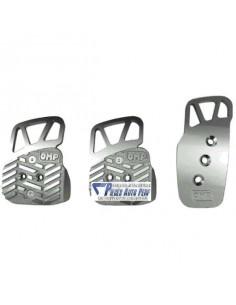 Pédalier réglable aluminium OMP Style Argent