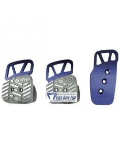 Pédalier réglable aluminium OMP Style Bleu