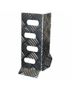 Reose pieds pilote BRATEX en aluminium gauffré