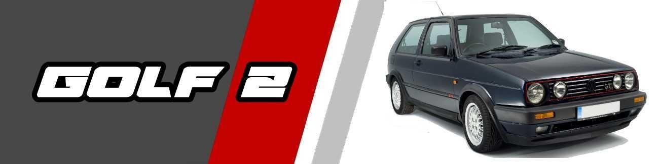 Silencieux d'échappement Volkswagen Golf 2