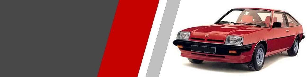 Plaquettes de freins Opel Manta