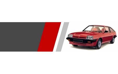 Plaquettes Opel MANTA