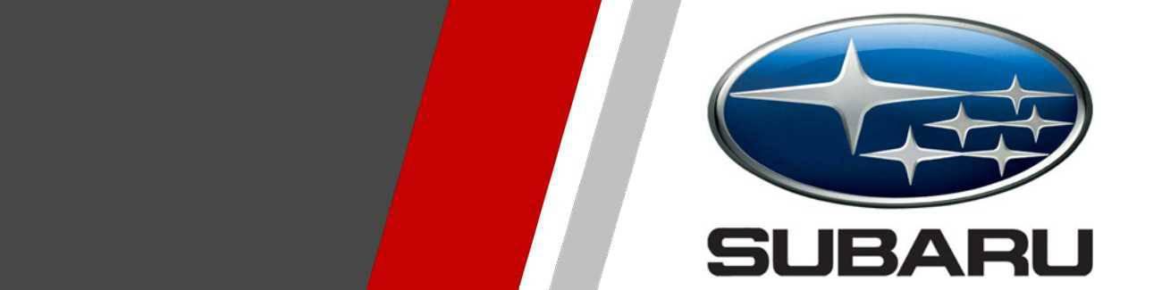Disques de freins Sport et Racing pour Subaru