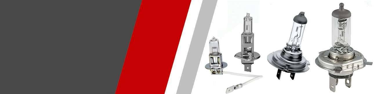 Ampoules halogène classiques auto moto