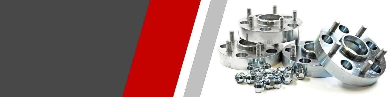 élargisseurs de voie aluminium usiné spécifiques