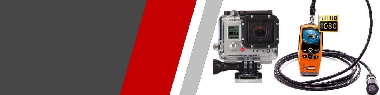 Mini Caméras embarquées Sport Extrème