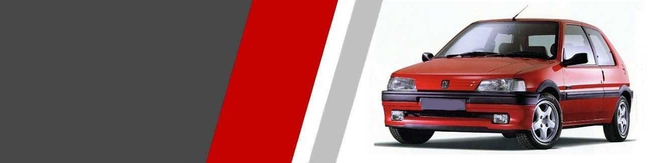Plaquettes de freins Sport et Racing Peugeot 106