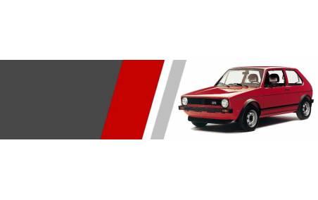 Plaquettes Volkswagen Golf 1