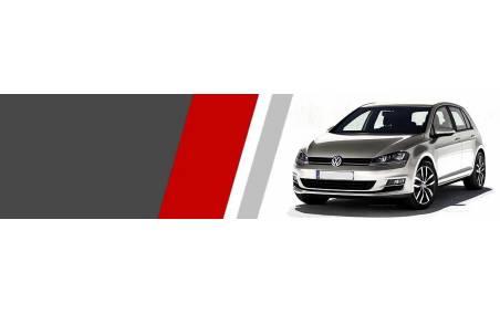 Plaquettes Volkswagen Golf 6