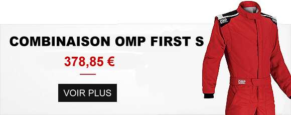 Combinaison pilote FIA OMP First S