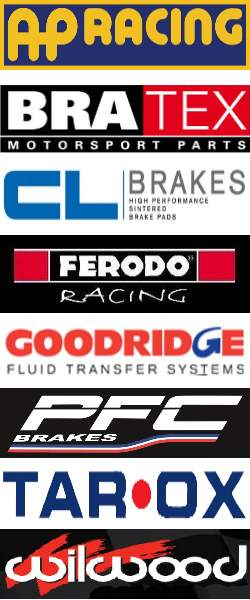 AP Racing - BREMBO - BRATEX - GOODRIDGE - FERODO Racing - PFC Brakes - WILWOOD